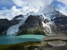 Mt. Robson at Berg Lake