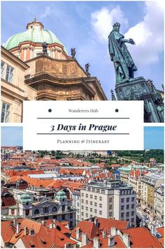 What to do in Prague in 3 days. 3 days in Prague itinerary. Things to do, Castle Hill, Charles Bridge, Old Town. Where to eat and what to do in Prague. Backpacking Europe, Europe Travel Guide, Spain Travel, Travel Guides, Europe Destinations, European Vacation, European Travel, Bucket List Europe, Prague Travel