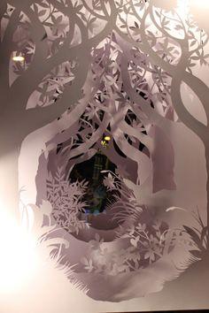 Handmade paper cutting sculpture Made to di SabieSabiPaperArt