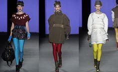 Calça legging metálica - nova moda 2013?