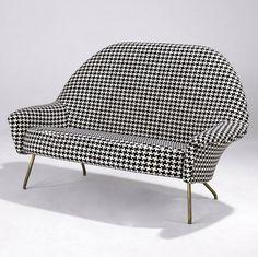 Joseph-André Motte;  Sofa for Steiner, 1958