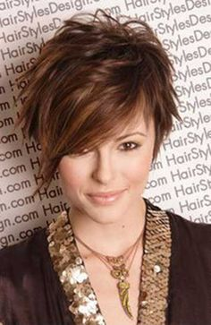 23.Asymmetrical Pixie Cut