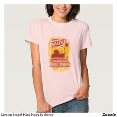The muppets - Tu Playera básica para mujer personalizada. Producto disponible en tienda Zazzle. Vestuario, moda. Product available in Zazzle store. Fashion wardrobe. Regalos, Gifts. Link to product: http://www.zazzle.com/viva_en_etapa_srta_piggy_playeras-235231213417382460?lang=es&design.areas=[zazzle_shirt_10x12_front]&color=palepink&size=a_l&style=hanes_womens_crew_tshirt_5680&view=113683215599406755&CMPN=shareicon&social=true&rf=238167879144476949 #camiseta #tshirt