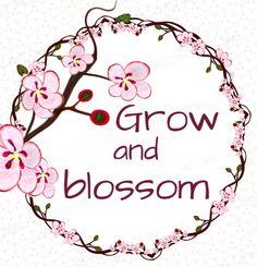 Cherry blossom floral quote - png flower borders frames clipart. https://www.etsy.com/il-en/listing/245130306/instant-download-300dpi-png-frames-bloom?ref=listing-shop-header-2