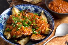 Why include miso in my paleo diet and how I use it | Eat Drink Paleo Eggplant with tomato miso sauce