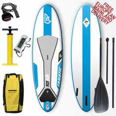 Fanatic Fly Air Allround 10'8 Inflatable SUP Stand Up Paddleboard 2014