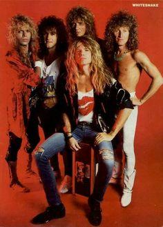 Big Hair Bands, Hair Metal Bands, Glam Rock, Whitesnake Band, Hard Rock, Adrian Vandenberg, Grunge, David Coverdale, Vivian Campbell