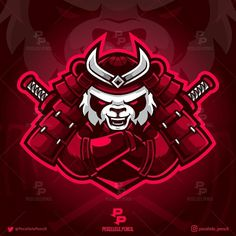 No hay descripción de la foto disponible. Team Logo Design, Logo Desing, Branding Design, Dope Cartoon Art, Dope Cartoons, Samurai Artwork, Logos Retro, Esports Logo, Gaming Wallpapers