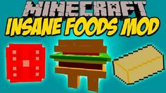 New post (Insane Foods Mod 1.8) has been published on Insane Foods Mod 1.8  -  Minecraft Resource Packs