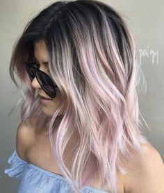 Pink balayage by Paige Teixeira