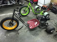 Any other MOTORIZED Drift trike owners here?:)