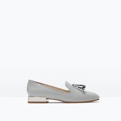 Image 1 of SLIP-ON WITH TASSELS from Zara