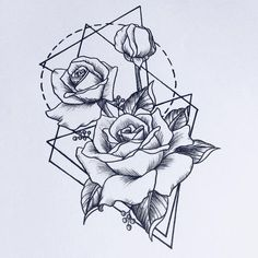 Resultado de imagem para Dagger Knife and Rose Flowers Drawn in Tattoo Style