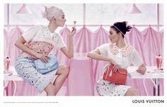 The Fashion World Louis Vuitton Campaign S|S 2012