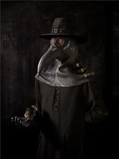 Erwin Olaf, dutch photographer.   Pest Doktor (plague doctor). Isn't is fabulous?