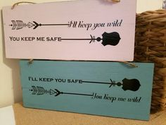 I'll keep you wild you keep me safe by SouthernHeritageCo on Etsy