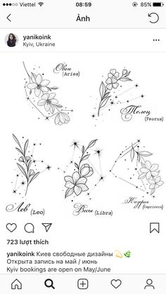 Astrology Tattoo, Horoscope Tattoos, Taurus Tattoos, Mini Tattoos, Cute Tattoos, Body Art Tattoos, Small Tattoos, Arrow Tattoos, Tattos