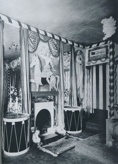 Cecil Beaton's Circus Bedroom