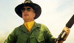 Robert Duvall as Colonel Kilgore - Cool under fire