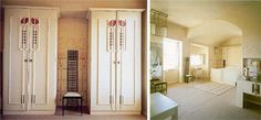 Charles Rennie MacIntosh cabinet doors - so amazing