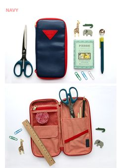 The P Pocket Pen Pouch is one of many adorable and functional products in the MochiThings collection. Cute Pens, Cute Cases, Pen Case, Couture, Sticky Notes, Masking Tape, Paper Clip, Pouch, Pocket