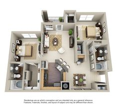 apartment floor plans Waterford Place at Riata Ranch Sims House Plans, House Layout Plans, Small House Plans, House Layouts, House Floor Plans, Home Design Floor Plans, Home Room Design, Plan Design, Sims 4 House Design