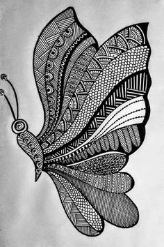 Doodle Art Drawing, Dark Art Drawings, Zentangle Drawings, Mandala Drawing, Art Drawings Sketches Simple, Zentangles, Mandala Art Therapy, Mandala Art Lesson, Mandala Artwork