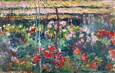 Claude Monet - Peony Garden
