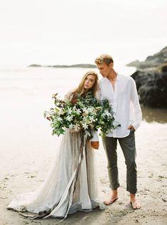 Intimate Oregon Coast Wedding Inspiration via Magnolia Rouge