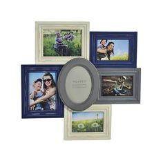 Melannco Black/ Grey Distressed Collage - Overstock™ Shopping - Great Deals on Melannco Photo Frames & Albums