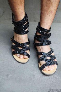 Sandalias masculinas (5) –Homens com estilo