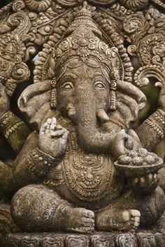God ganesh statue of hindo in Bangkok Thailand temple Stock Photo Jai Ganesh, Ganesh Statue, Lord Ganesha, Indian Gods, Indian Art, Shiva, Temple Indien, Om Gam Ganapataye Namaha, Elephas Maximus
