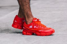 RAF SIMONS x ADIDAS OZWEEGO II (RED) - Sneaker Freaker