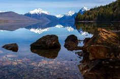 The Glacier National Park is among the most famous ones in the country. Its alpine meadows and rugge... - National Park Service
