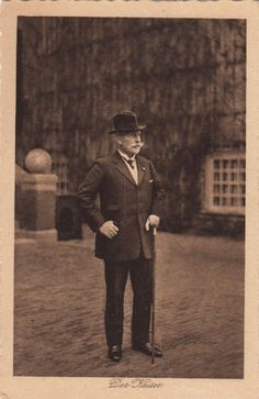 Kaiser Wilhelm II of Prussia. Ca. 1925.
