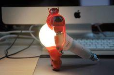 Big Hero 6 Baymax 3D Printed Lamp: Your Personal Lighting Companion