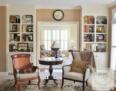Brilliant Mirrored Bookcases!