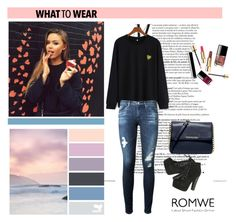 """""""sweatshirt banana"""" by anadela-galamic ❤ liked on Polyvore featuring mode, AG Adriano Goldschmied, Breckelle's, MICHAEL Michael Kors et Seed Design"""