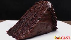 Η Σοκολατόπιτα που θα αγαπήσεις Sour Cream Chocolate Cake, Sour Cream Cake, Chocolate Banana Bread, Chocolate Butter, Chocolate Chip Muffins, Chocolate Flavors, Bread Kitchen, Homemade Muffins, Paper Cupcake