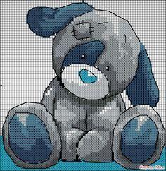 Teddy cross stitch
