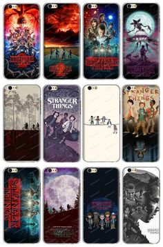 Stranger Things The Mirror World Cellphone Case Cover For Iphone Samsung 5 6 7 X