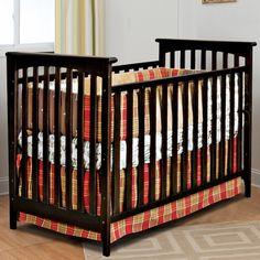 Child Craft Monterey 3-in-1 Stationary Crib in Jamocha