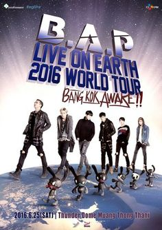 B.A.P Live On Earth 2016 Tour Bangkok Awake