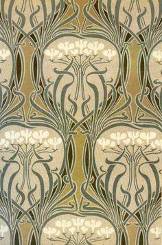 Art Nouveau - Illustration - Motif