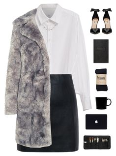 """""""Let's go to Paris"""" by genesis129 ❤ liked on Polyvore featuring Y's by Yohji Yamamoto, McQ by Alexander McQueen, Karl Lagerfeld, Valentino, Smythson, iittala and Sephora Collection"""