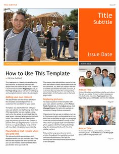 newsletter templates free