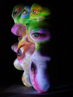 "Tony Oursler, ""Sculpture"""