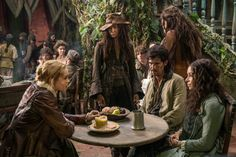 Black Sails - Eleanor Guthrie with Max, Anne and Jack