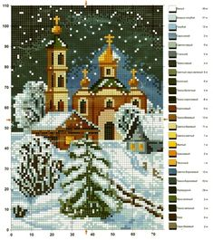 Brilliant Cross Stitch Embroidery Tips Ideas. Mesmerizing Cross Stitch Embroidery Tips Ideas. Cross Stitch House, Xmas Cross Stitch, Cross Stitch Charts, Cross Stitch Designs, Cross Stitching, Cross Stitch Embroidery, Cross Stitch Patterns, Christmas Scenes, Christmas Cross