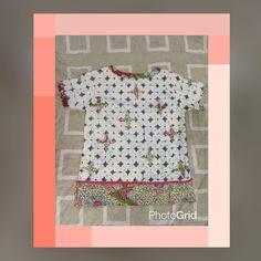 Batik blouse back